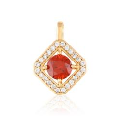 Przywieszka z czerwonym kryształem-Xuping  PRZ1909