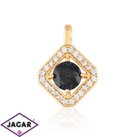 Przywieszka z czarnym kryształem-Xuping PRZ1910