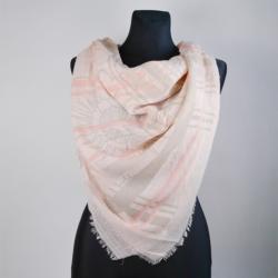 Chusta damska różowa - 140x140cm WO778