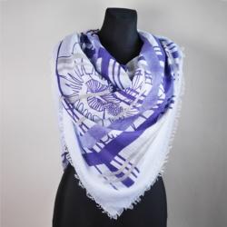 Chusta damska niebieska - 140x140cm WO782