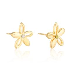 Kolczyki kwiatuszki - 1cm - EA2167