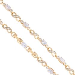 Bransoletka nieskończoność kryształ Xuping BP3980