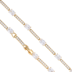 Bransoletka z kryształkami - Xuping BP3986