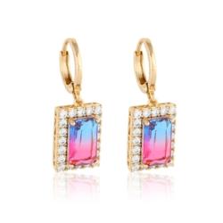 Kolczyki colorful crystal - Xuping - EAP9325