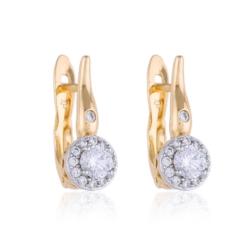 Kolczyki z kryształami - Xuping - EAP9331