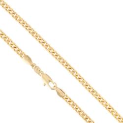 Łańcuszek pancerka - 50cm - Xuping - LAP1408