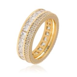 Pierścionek z kryształami - Xuping - PP1906