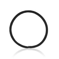 Gumki do włosów - czarne - 100szt - OG271