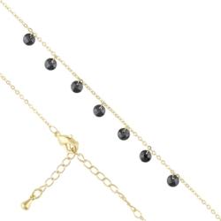 Bransoletka z kryształkami - black - BP4052