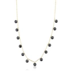 Celebrytka z kryształkami - black - CP1834