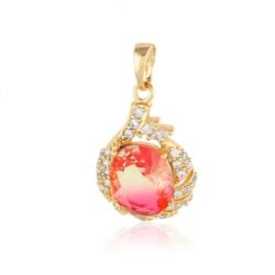 Przywieszka z kolorowym kryształem- Xuping PRZ1895