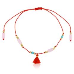 Bransoletka na czerwonym sznurku- Moonriver BP4056