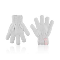 Rękawiczki dziecięce - szare - 15cm - RK428