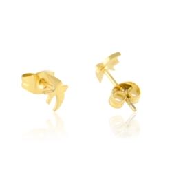 Kolczyki ze stali chirurgicznej - Lisha - EAP9548