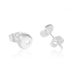 Kolczyki ze stali chirurgicznej - Lisha - EAP9553