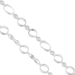Bransoletka z kryształkami - Xuping BP4101