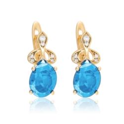 Kolczyki z kryształami - Xuping - EAP9633