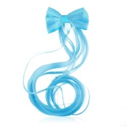 Spinki do włosów - niebieskie pasemko - OS350