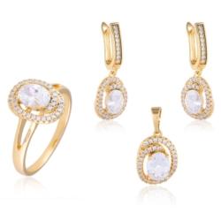 Komplet z kryształkami - Xuping - PK439