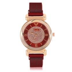 Zegarek damski na bransolecie magnetycznej - Z772