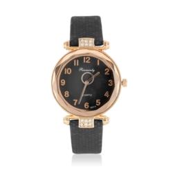 Zegarek damski na czarnym pasku - Z778
