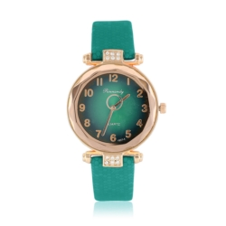 Zegarek damski na zielonym pasku - Z779