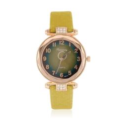 Zegarek damski na beżowym pasku - Z780