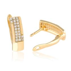 Kolczyki z kryształkami - Xuping - EAP9769