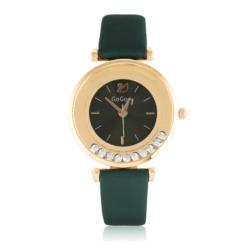 Zegarek damski na zielonym pasku - Z786
