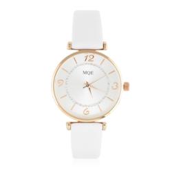 Zegarek damski na białym pasku - Z787