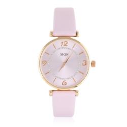 Zegarek damski na różowym pasku - Z788