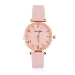 Zegarek damski na różowym pasku - Z794