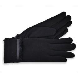Eleganckie rękawiczki damskie - 23cm - RK433
