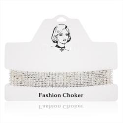 Choker - obróżka z kryształkami - CHO92
