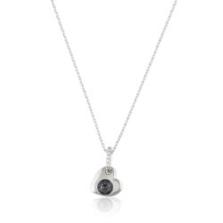 Naszyjnik - serduszko z kryształem - Xuping CP1964