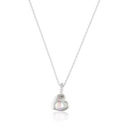 Naszyjnik - serduszko z kryształem - Xuping CP1965