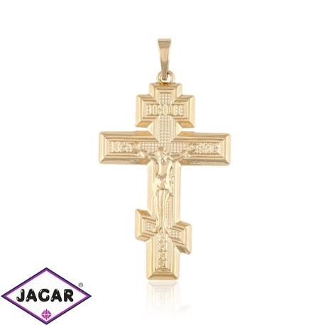 Przywieszka - krzyż prawosławny - Xuping - PRZ1968