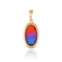 Przywieszka z kolorowym kryształem- Xuping PRZ1972