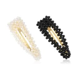 Spinki do włosów z kryształkami 8cm - 12szt OS374