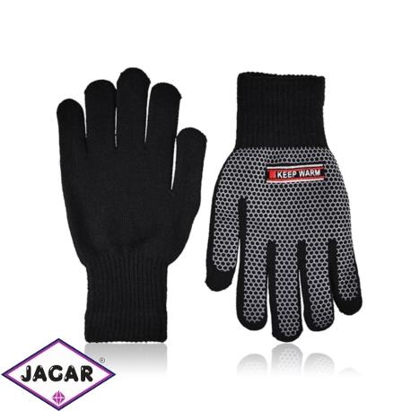 Rękawiczki męskie - młodzieżowe - 21cm - RK446