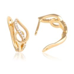 Kolczyki z kryształkami - Xuping  EAP9916