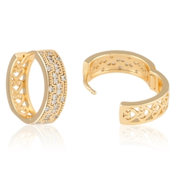 Kolczyki z kryształkami - Xuping - EAP9931
