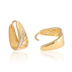 Kolczyki z kryształkami - Xuping - EAP9932