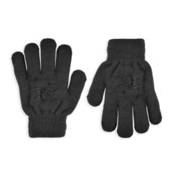 Rękawiczki chłopięce grafit R-118DB - 17cm - RK515