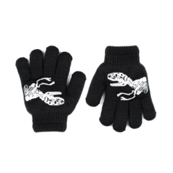 Rękawiczki chłopięce czarne R-012DB - 15cm - RK520