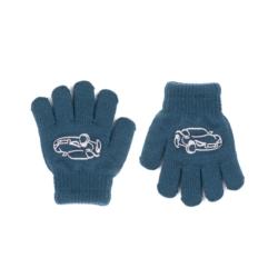 Rękawiczki chłopięce morski R-012DB - 13cm - RK524