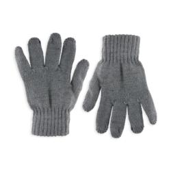 Rękawiczki chłopięce szare R-050 - 16cm - RK527