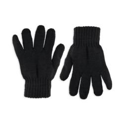 Rękawiczki chłopięce czarne R-050 - 16cm - RK528