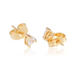Kolczyki sztyfty z kryształem - Xuping - EAP9934