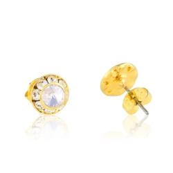Kolczyki czeskie z kryształem 48/33 - EA2246